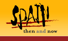 Spain Then and Now Identity and Website
