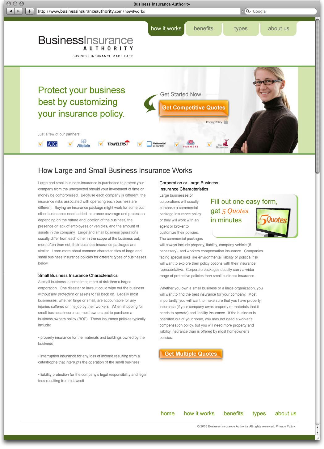 Business Insurance Authorities