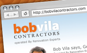 Bob Vila Branding and Website