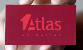 Atlas Appraisal Identity and Business Cards