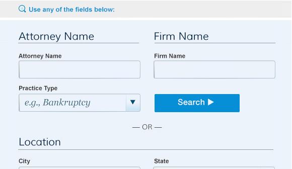 Law Info Advanced Search