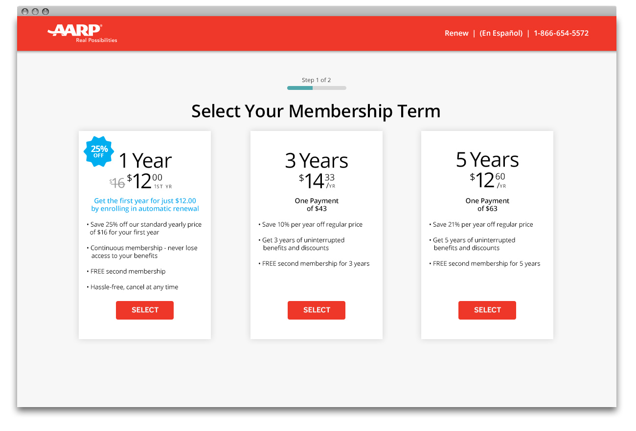 AARP Term Select