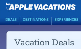 Apple Vacations Landing Pages