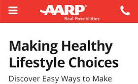 AARP 'Active Lifestyle' Responsive LP