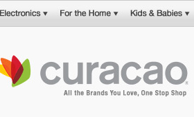 Curacao Home Page Redesign