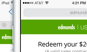 Edmunds Responsive Used+ Redemption