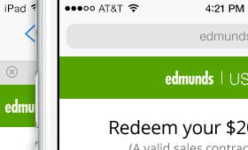 Edmunds Responsive Used+ Redemption