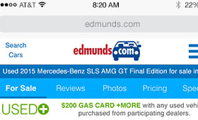 Edmunds Used Mobile Lead Flow
