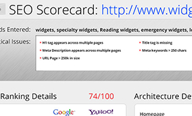 The Search Agency SEO Scorecard